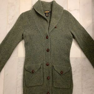 Ralph Lauren Sweater 100% Shetland wool - small